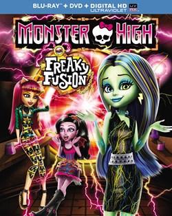 Monster High: Freaky Fusion (DVD + Digital + Ultraviolet) [Blu-ray]