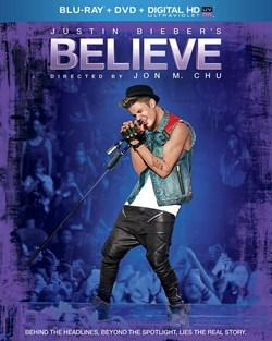 Justin Bieber's Believe (DVD + Digital + Ultraviolet) [Blu-ray]