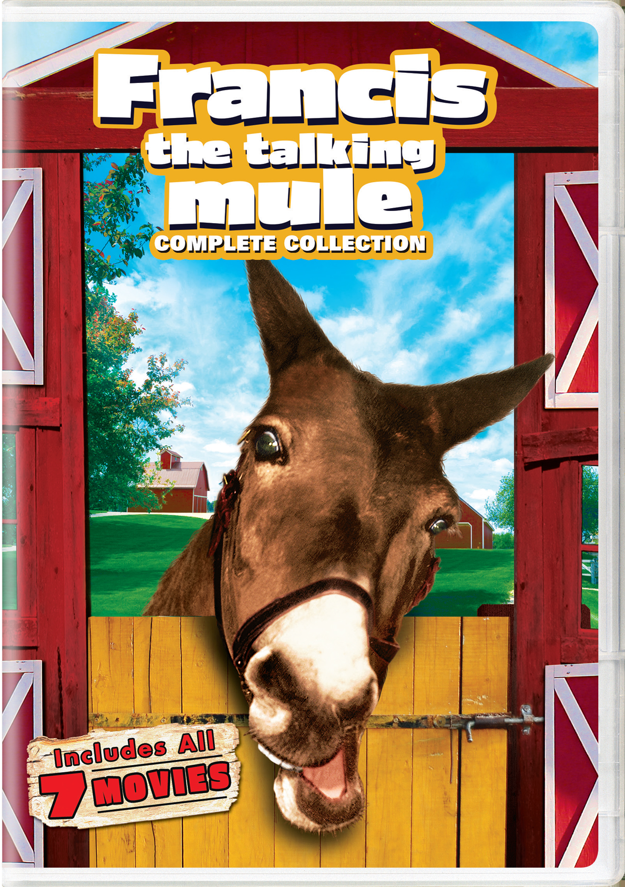 Francis the Talking Mule Complete Collection (Box Set) [DVD]