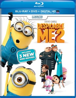 Despicable Me 2 (with DVD) [Blu-ray]