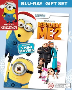 Despicable Me 2 (Limited Edition Ornament Gift Set) [Blu-ray]