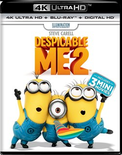 Despicable Me 2 (4K Ultra HD) [UHD]
