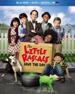 The Little Rascals Save the Day (with DVD) [Blu-ray]
