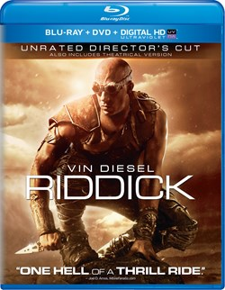 Riddick (with DVD) [Blu-ray]