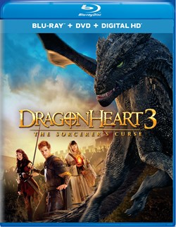 Dragonheart 3 - The Sorcerer's Curse (DVD + Digital) [Blu-ray]