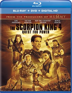 The Scorpion King 4 - Quest for Power (with DVD) [Blu-ray]