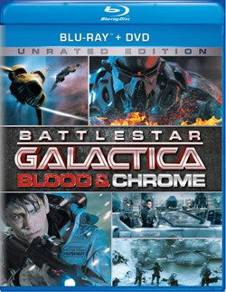 Battlestar Galactica: Blood and Chrome (with DVD) [Blu-ray]