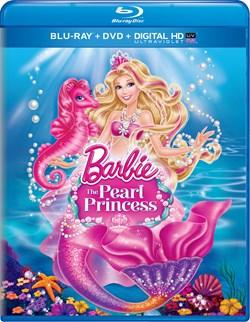 Barbie: The Pearl Princess (DVD + Digital + Ultraviolet) [Blu-ray]