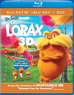 The Lorax (with DVD) [Blu-ray]