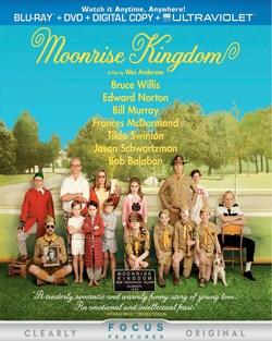 Moonrise Kingdom (DVD + Digital + Ultraviolet) [Blu-ray]