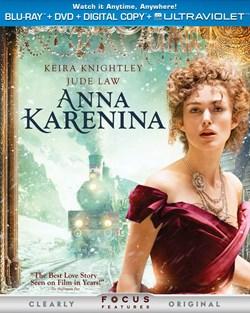 Anna Karenina (with DVD) [Blu-ray]