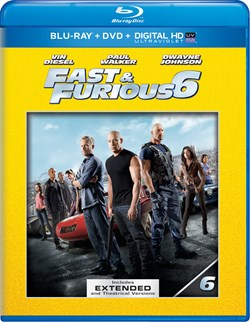Fast & Furious 6 (with DVD) [Blu-ray]