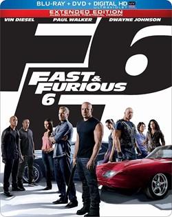 Fast & Furious 6 (with DVD Steelbook) [Blu-ray]