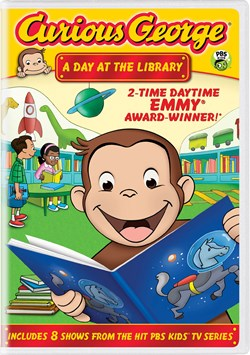 Curious George: A Day at the Library [DVD]