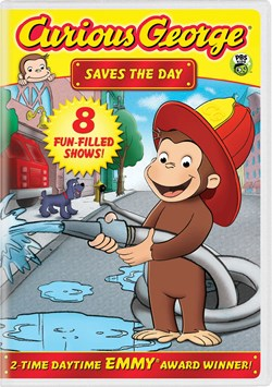 Curious George: Saves the Day [DVD]