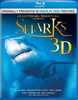 Sharks 3D [Blu-ray]