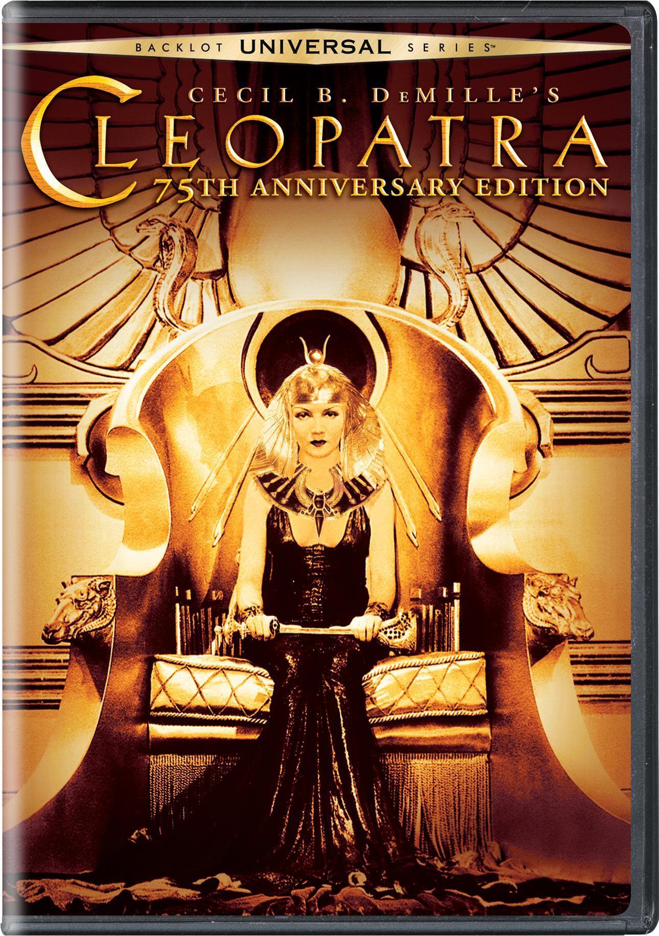 Cleopatra (75th Anniversary Edition) [DVD]
