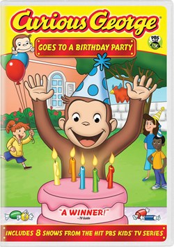 Curious George: Goes to a Birthday Party [DVD]