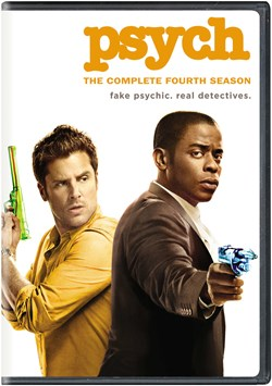 Psych: The Complete Fourth Season [DVD]
