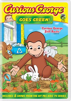 Curious George: Goes Green! [DVD]