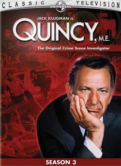 Quincy M.E: Season 3 [DVD]