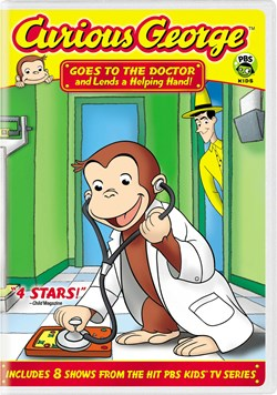 Curious George: Goes to the Doctor and Lends a Helping Hand! [DVD]
