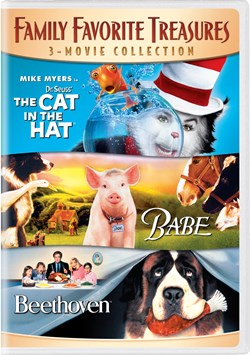 Dr Seuss: The Cat in the Hat/Babe/Beethoven [DVD]