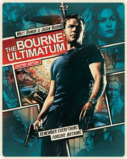 The Bourne Ultimatum Steelbook (with DVD) [Blu-ray]