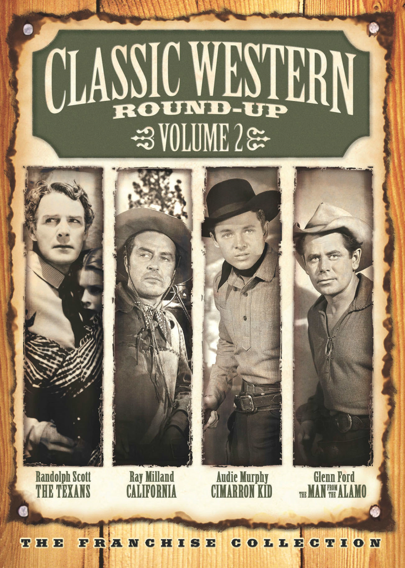 Classic Western Round-Up: Volume 2 [DVD]