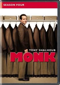 Monk: Season 4 [DVD]