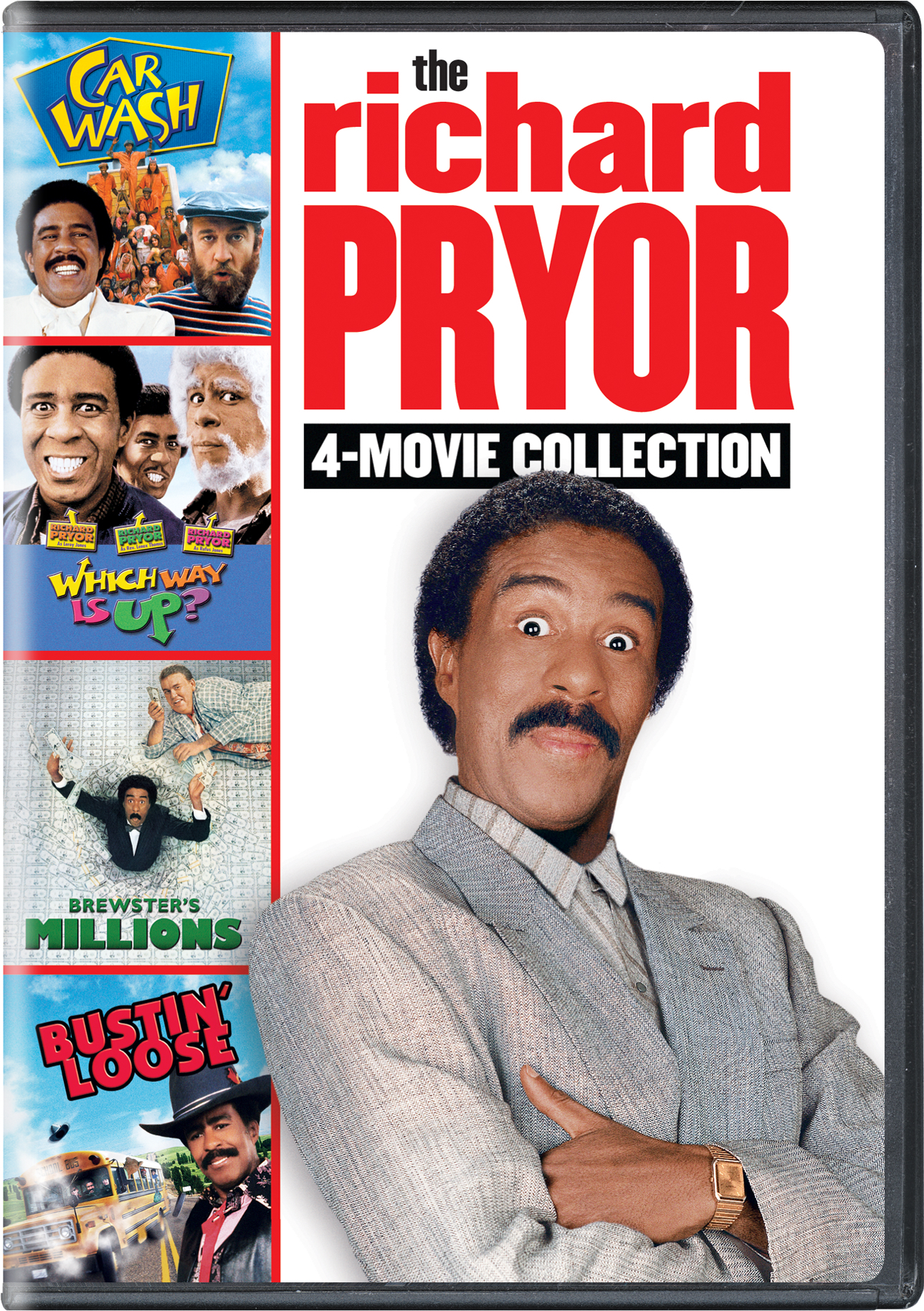 The Richard Pryor 4-Movie Collection [DVD]