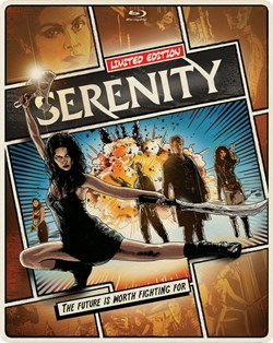 Serenity (with DVD) [Blu-ray]