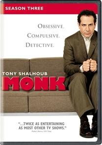 Monk: Season 3 [DVD]