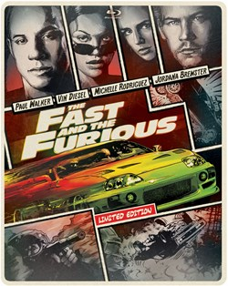 The Fast and the Furious (Limited Edition Steelbook) [Blu-ray]