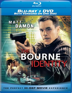 The Bourne Identity (with DVD) [Blu-ray]