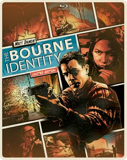The Bourne Identity (with DVD Steelbook) [Blu-ray]
