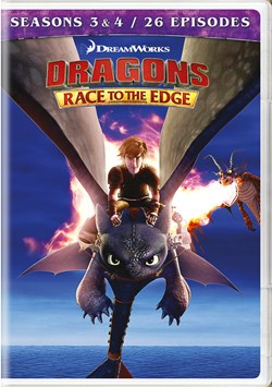 Dragons: Race to the Edge - Seasons 3 & 4 [DVD]
