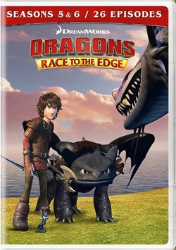 Dragons: Race to the Edge - Seasons 5 & 6 [DVD]