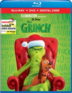 The Grinch (with DVD) [Blu-ray]