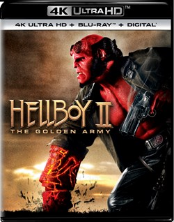 Hellboy 2 - The Golden Army (4K Ultra HD) [UHD]