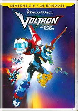 Voltron - Legendary Defender: Seasons 3-6 [DVD]