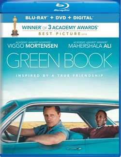Green Book (DVD + Digital) [Blu-ray]