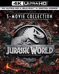 Jurassic World 5-Movie Collection (4K Ultra HD + Blu-Ray)  [UHD]