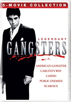 Legendary Gangsters: 5-Movie Collection [DVD]