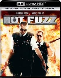 Hot Fuzz (4K Ultra HD + Blu-ray) [UHD]
