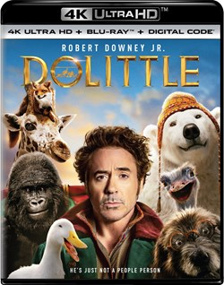 Dolittle (4K Ultra HD + Blu-ray) [UHD]