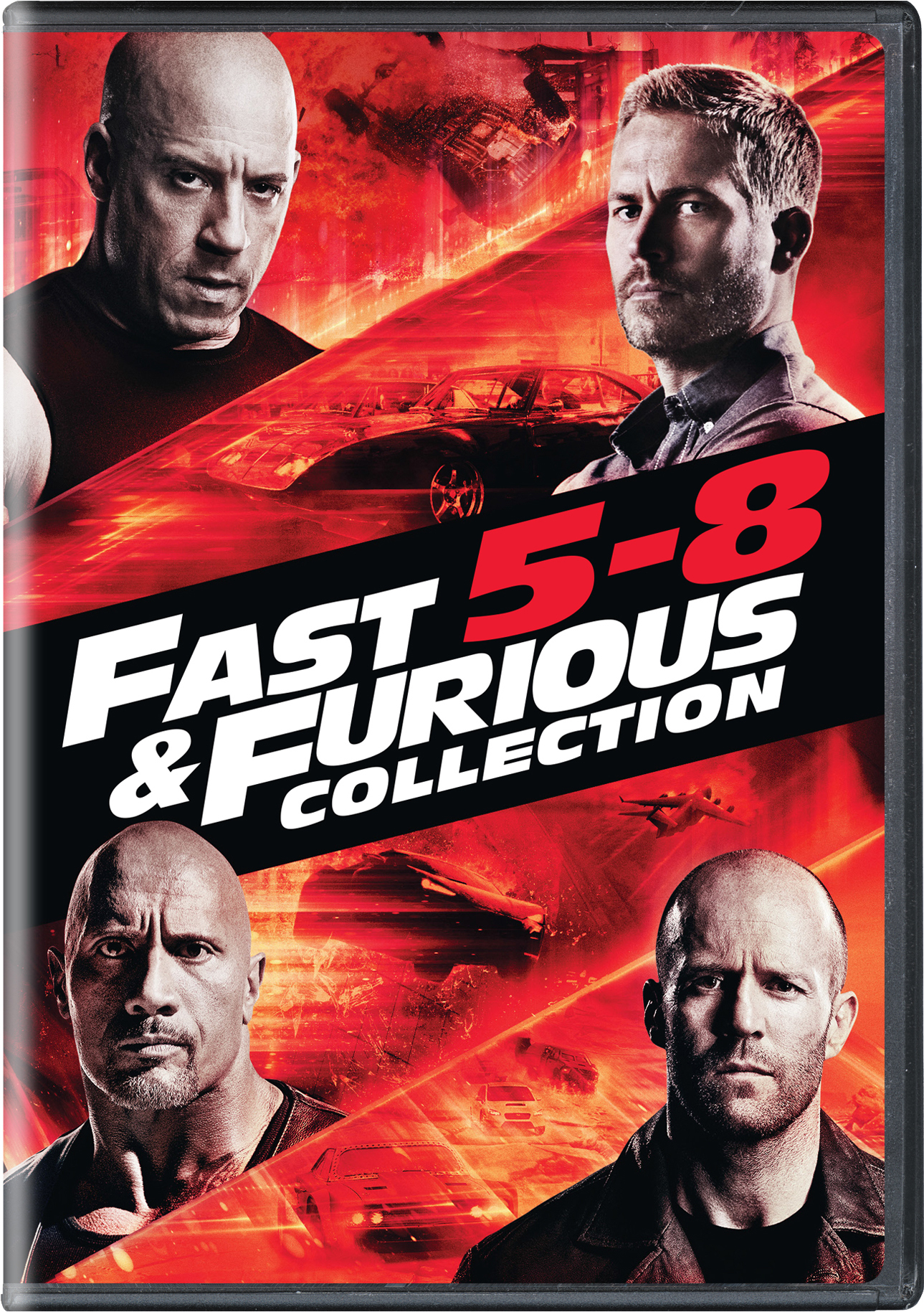 Fast & Furious Collection: 5-8 [DVD]