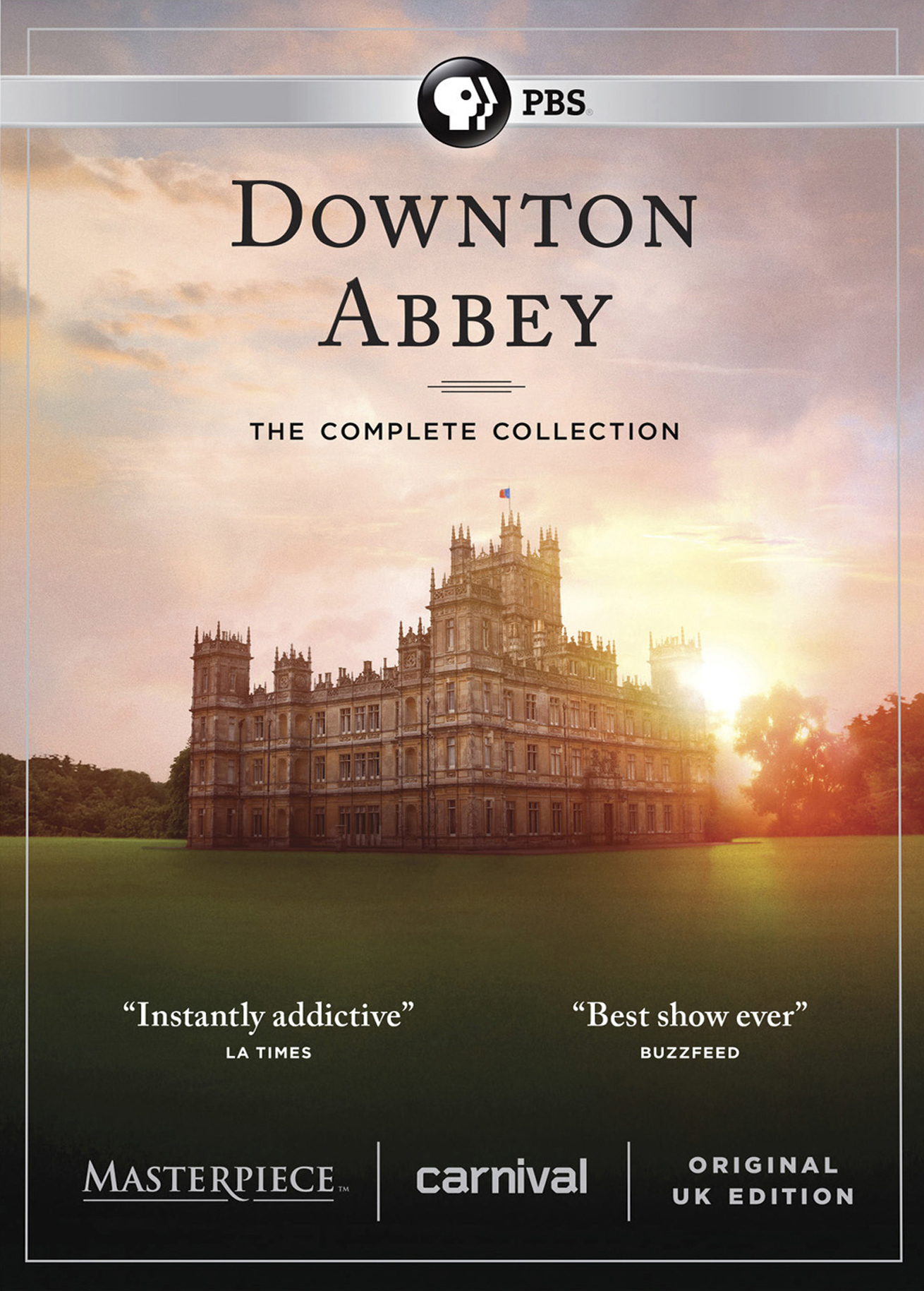 (D) Downton Abbey: The Complete Collection [DVD]