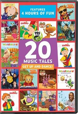 PBS Kids: 20 Music Tales [DVD]