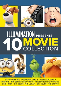 Illumination Presents: 10-Movie Collection [DVD]